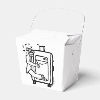 A bagagem de Harrison remove a caixa