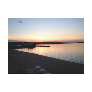 A baía transversal grande, Michigan imprimiu Impressão Em Tela Canvas