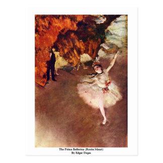A bailarina de Prima (Rosita Mauri) por Edgar Dega Cartão Postal