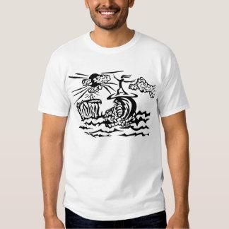 A baliza t-shirts