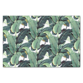 A banana sae palma do lenço de papel 10lb tropical