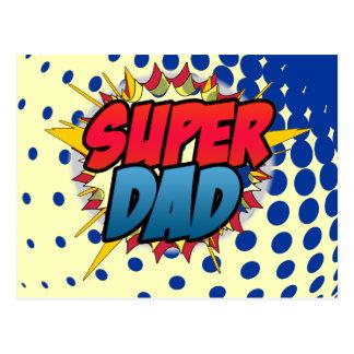 A banda desenhada inspirou o pai super cartão postal