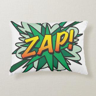 A banda desenhada ZAP! coxim do travesseiro do Almofada Decorativa