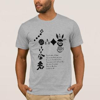 """A banda dos indícios """"Elope"""" estêncil & camisa"""