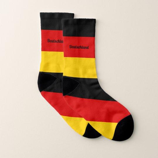 A bandeira alem?o colore meias