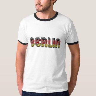 A bandeira alemão de Berlim Alemanha colore a Camiseta