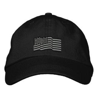 A bandeira americana dos EUA Stars 'o boné bordado