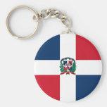 A bandeira da República Dominicana FAZ Chaveiro