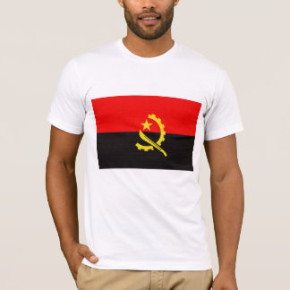 A bandeira de Angola Camiseta