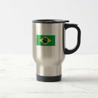 A bandeira de Brasil Caneca