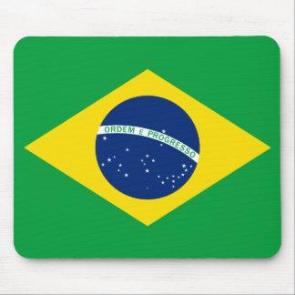 A bandeira de Brasil Mousepad
