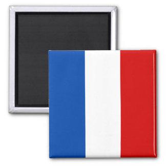 A bandeira de France Ímã Quadrado