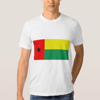 A bandeira de Guiné-Bissau Camisetas