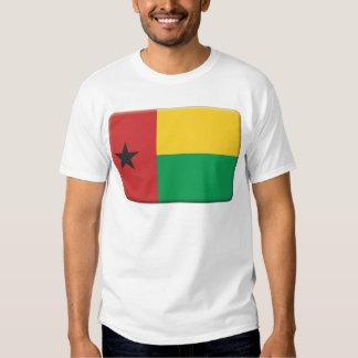 A bandeira de Guiné-Bissau PERSONALIZA Tshirts