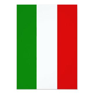 A bandeira de Italia Convites Personalizado