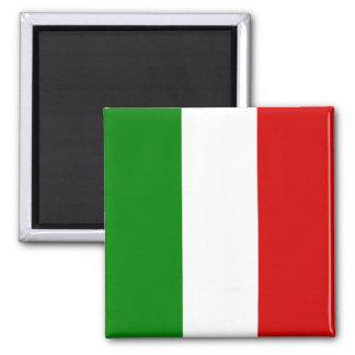 A bandeira de Italia Ímã Quadrado