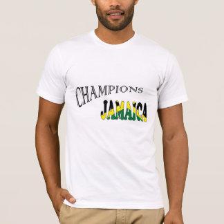 A bandeira de Jamaica patrocina o tshirt dos Camiseta