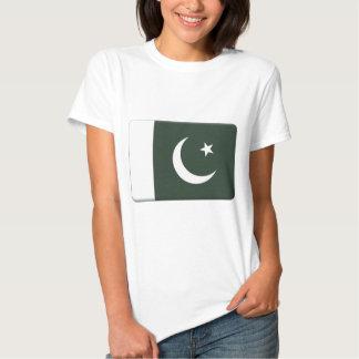 A bandeira de Paquistão PERSONALIZA Tshirts