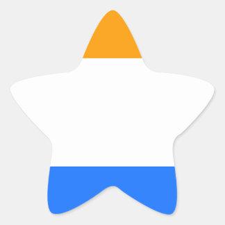 A Bandeira do príncipe Adesivo Estrela