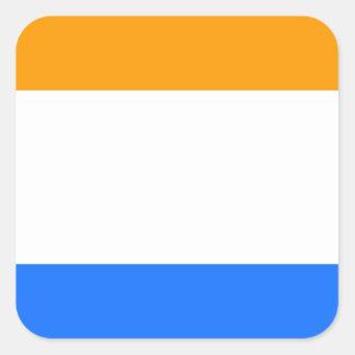 A Bandeira do príncipe Adesivo Quadrado