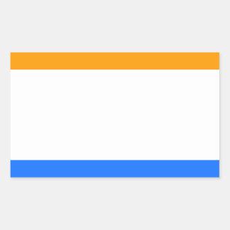A Bandeira do príncipe Adesivo Retangular