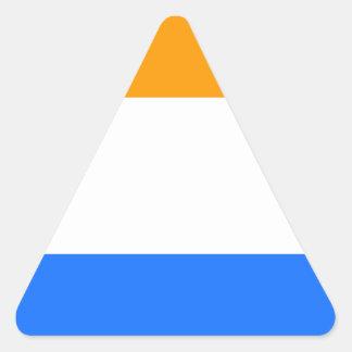 A Bandeira do príncipe Adesivo Triangular