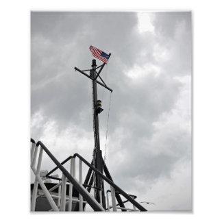 A bandeira do vôo - impressão da foto 8x10