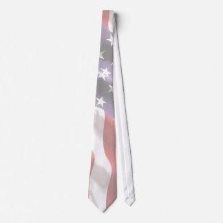 A bandeira dos Estados Unidos Stars o laço das Gravata