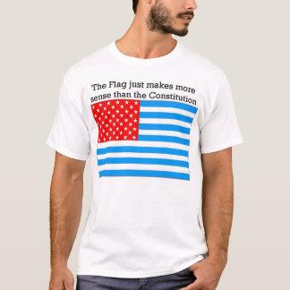 A bandeira faz o sentido camiseta
