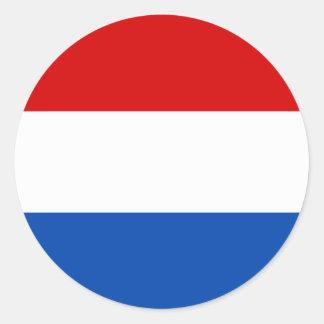A bandeira holandesa adesivo
