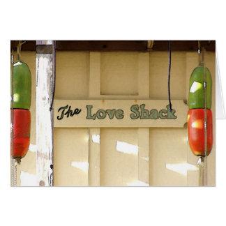 A barraca do amor - cartão