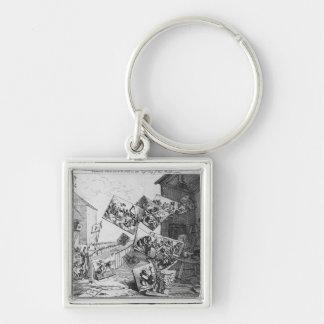A batalha das imagens, 1745 chaveiro