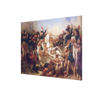 A batalha das pirâmides, o 21 de julho de 1798