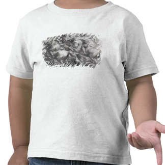 A batalha de Anghiari após Leonardo da Vinci Tshirt