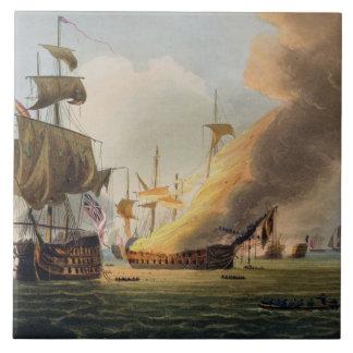 A batalha de Trafalgar, o 21 de outubro de 1805,