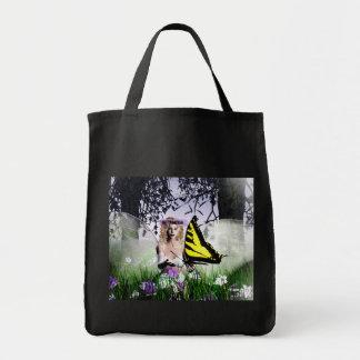 A beleza da natureza sacola tote de mercado