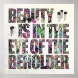A beleza está no olho do espectador