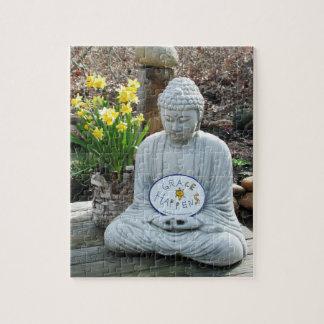 A benevolência acontece quebra-cabeça de Buddha