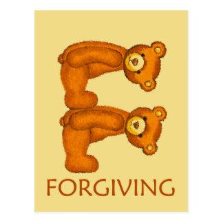 A bíblia carrega a escritura de perdão do ~ cartão postal