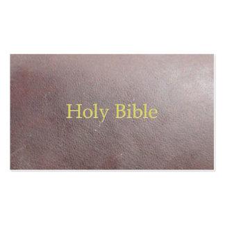 A Bíblia Sagrada Cartão De Visita