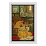 A biblioteca pelo verde de Elizabeth Shippen Poster