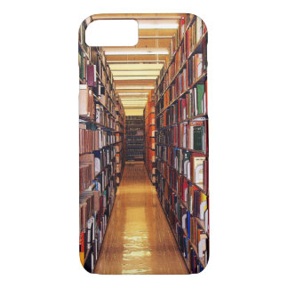 A biblioteca registra o caso do iPhone 7 Capa iPhone 7