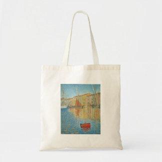 A bóia vermelha por Paul Signac, Pointillism do Bolsa Tote