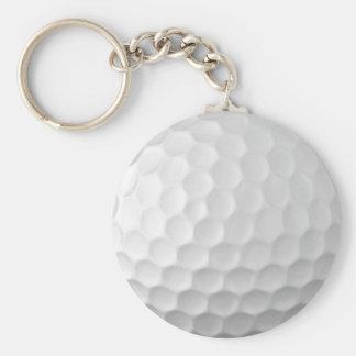 A bola de golfe ondeia o teste padrão 2 da textura chaveiro