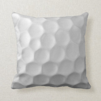 A bola de golfe ondeia o teste padrão da textura almofada