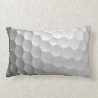 A bola de golfe ondeia o teste padrão da textura almofada lombar