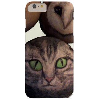 A bola do gato e a bola da coruja são amigos capas iPhone 6 plus barely there
