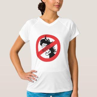 A bolota morde o t-shirt das intimidações camiseta