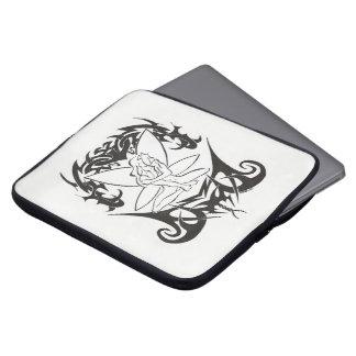"""A bolsa computador portátil """"Fada Tribal """" Bolsas E Capas De Notebook"""