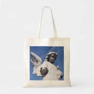 A bolsa de canvas angélico da criança